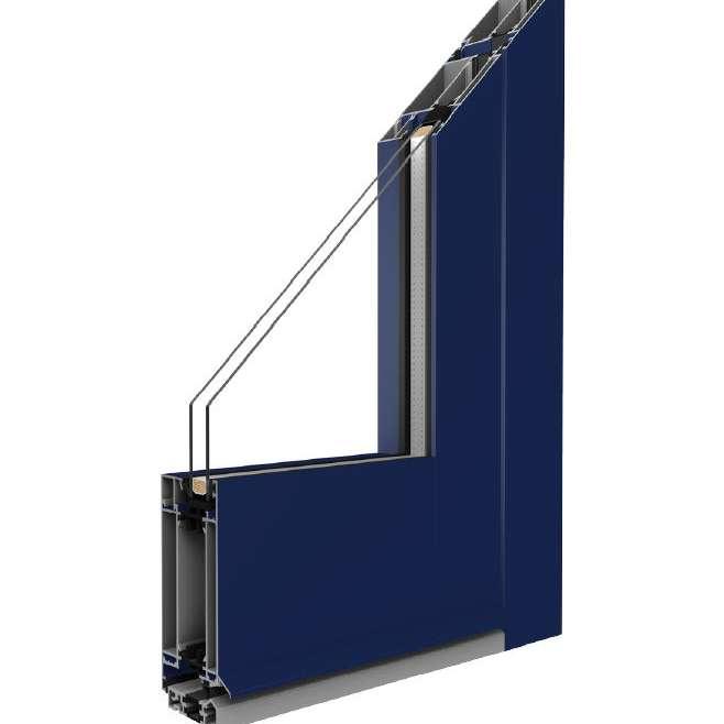 AluminiumTüren der Reihe MB – 70 HI