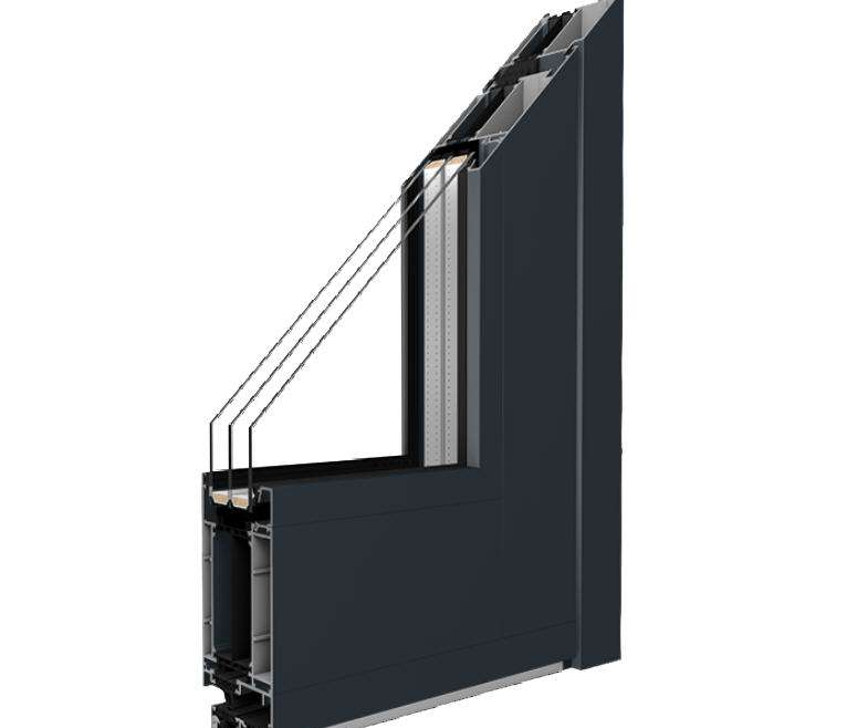AluminiumTüren der Reihe MB – 86 SI